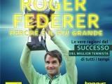 Federer , Il più grande (Copertina del libro)